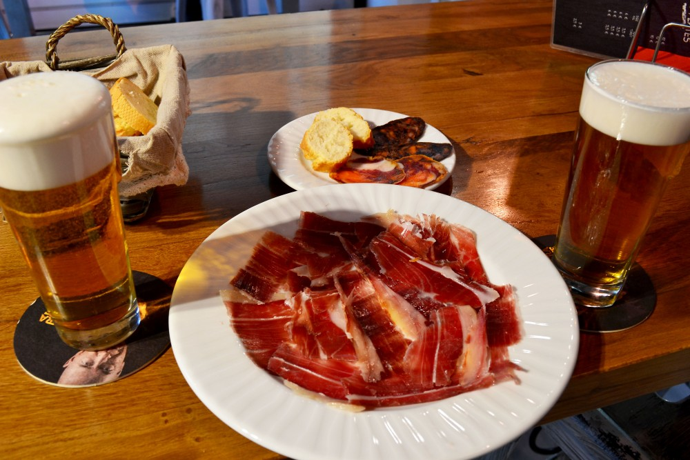 Number 1 thing to do in Madrid is feast on Iberico Ham