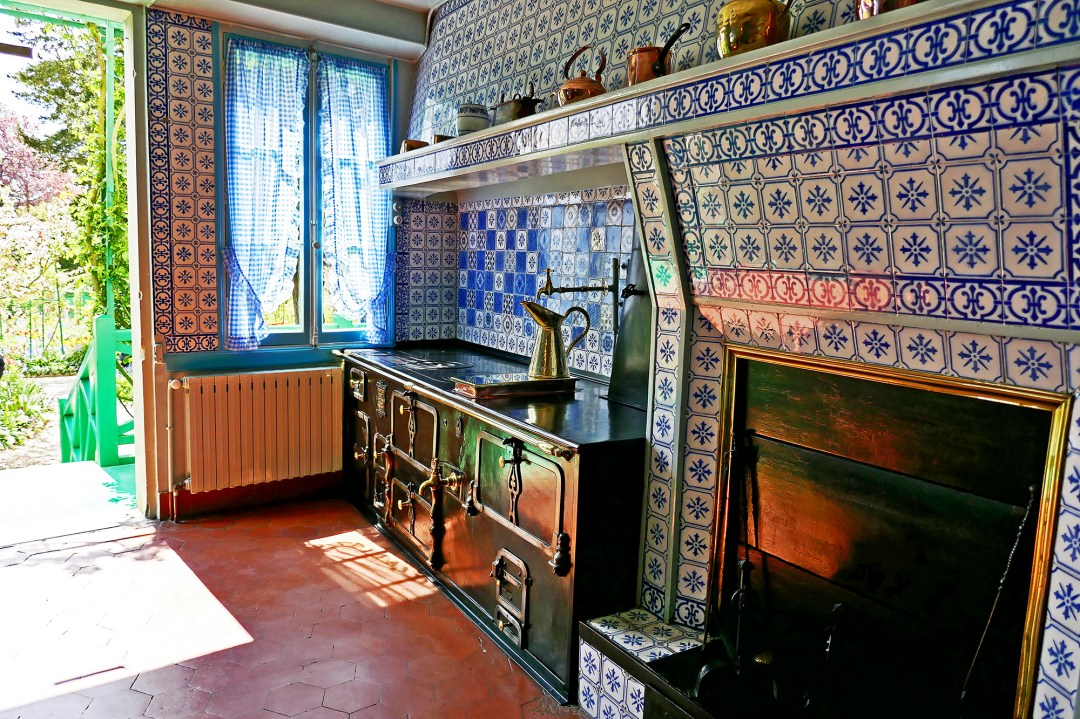 Monet's kitchen in Giverny for boomervoice