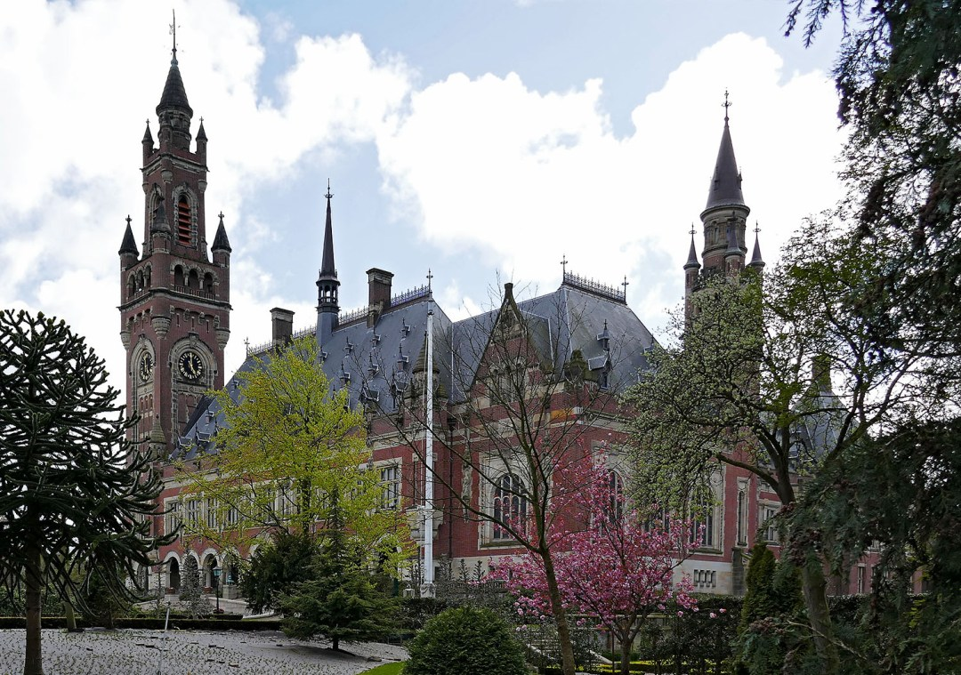 Peace Palace in spring