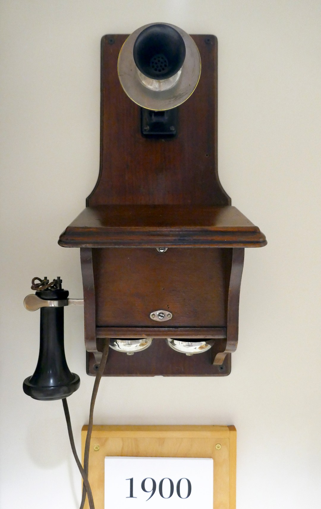 Telephone at Alexander Graham Bell Museum