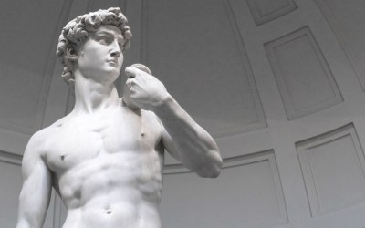 David, Michelangelo's David, is the symbol of the Renaissance