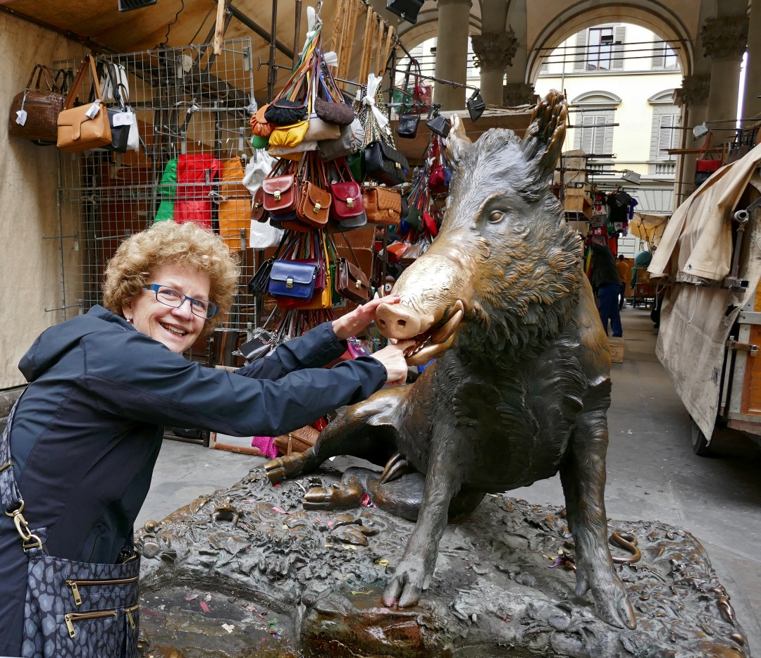 Porcellino Boar in Florence