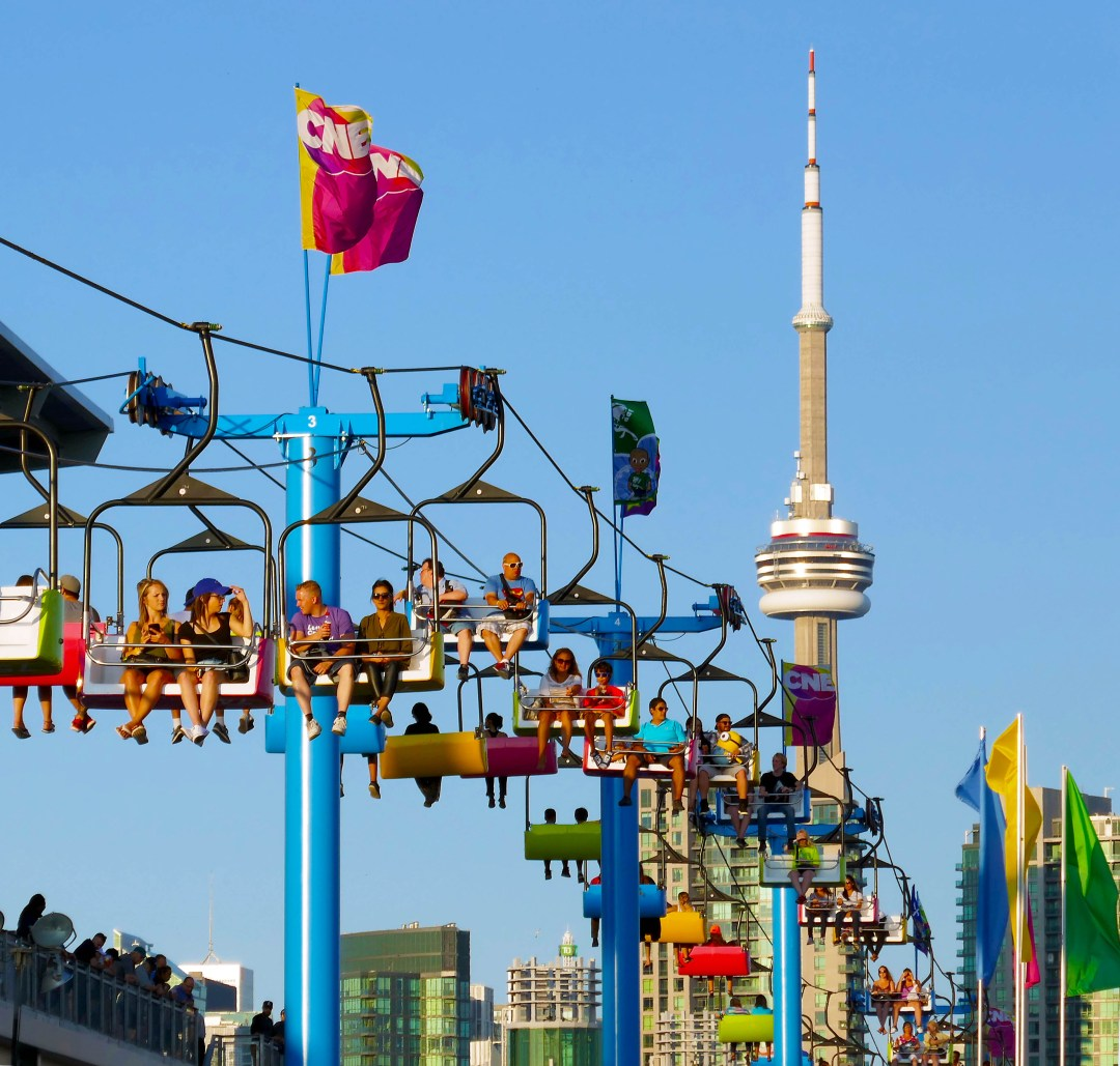 CN Tower and CNE in Toronto