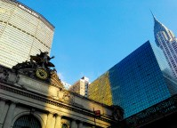 Grand Central, MetLife and Chrysler buildings in New York