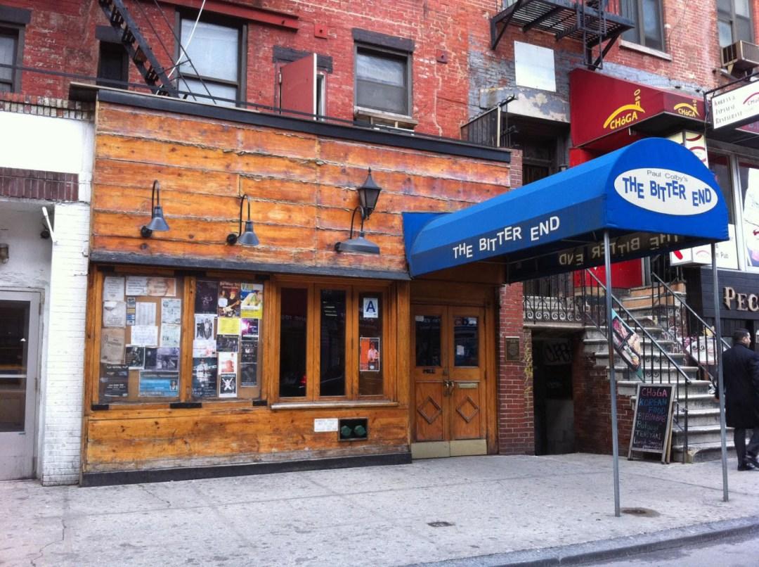 The Bitter End in Greenwich Village