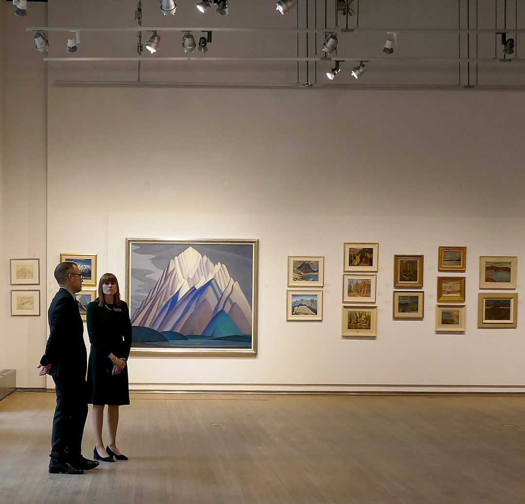 Lawren Harris Mountain Form shatters Canadian art price at Heffel auction
