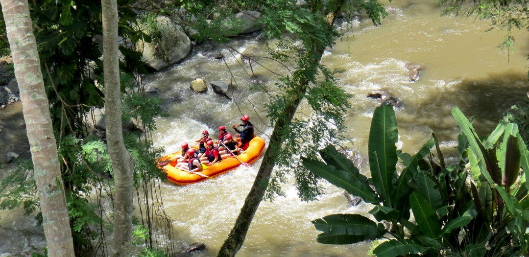 Bali river rafting for boomervoice