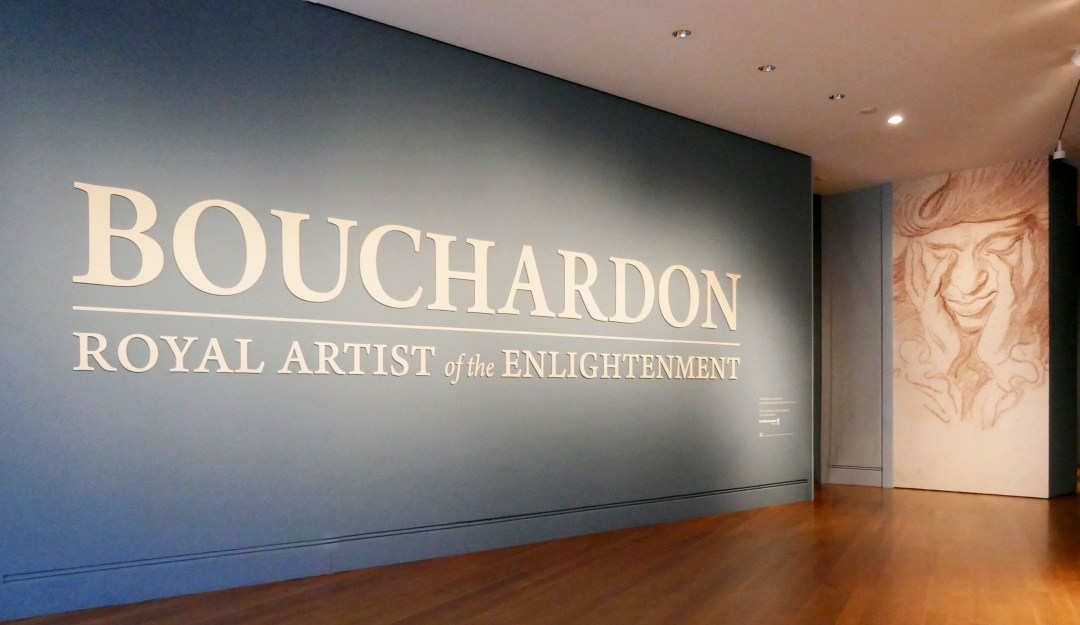 Exit from Bouchardon exhibit at Getty Center for boomervoice