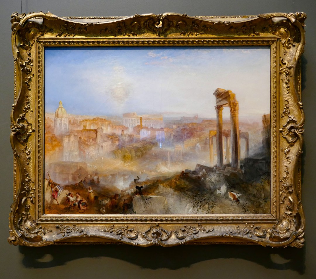 Turner Modern Rome at Getty Center for boomervoice