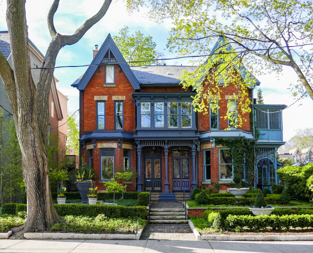 House on Carlton in Cabbagetown for boomervoice