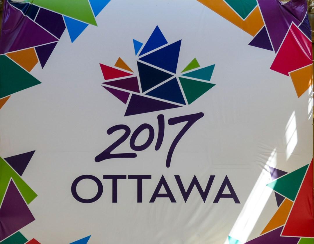 Ottawa 2017 sign