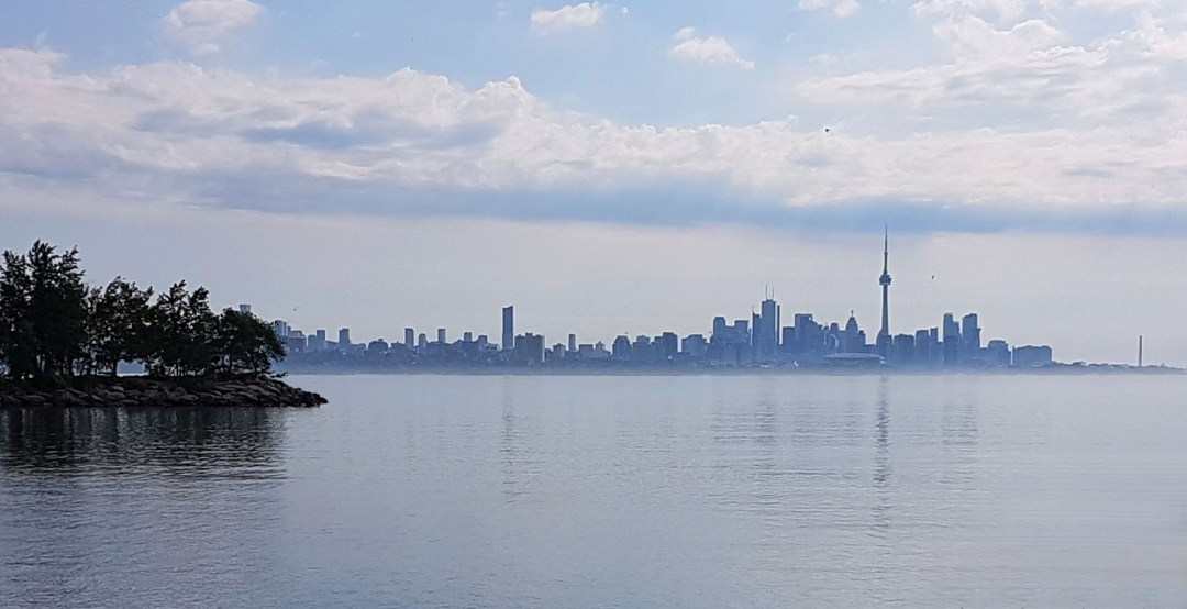 Toronto skyline from Humber Bay for boomervoice