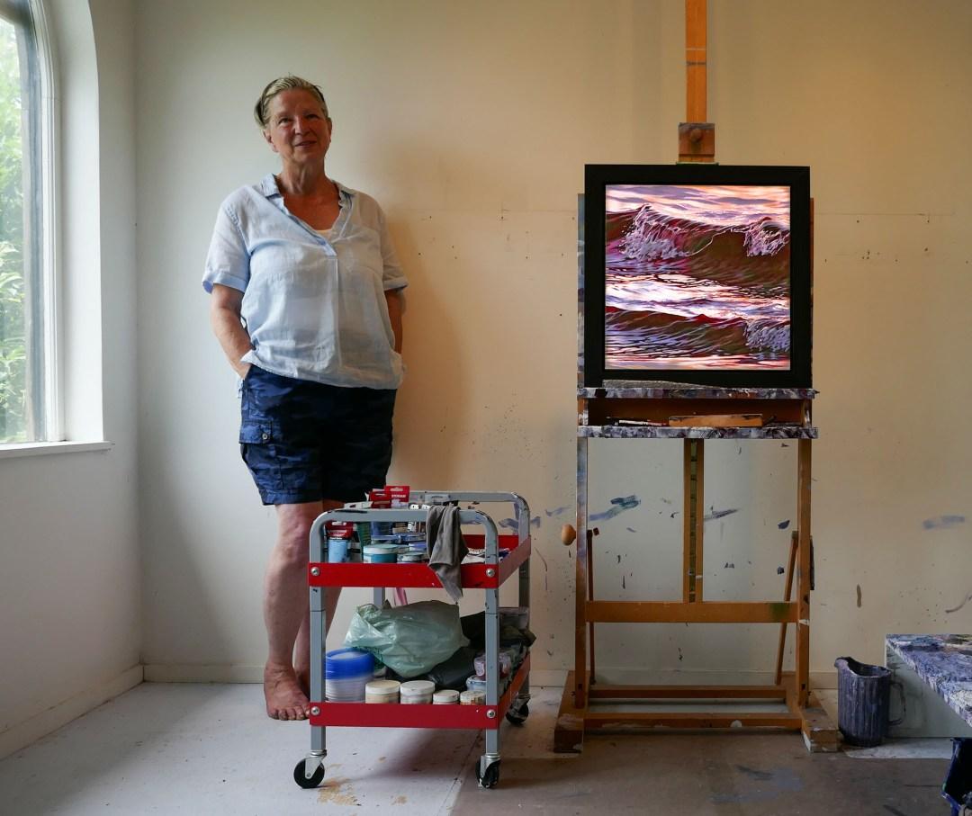 Jaye Ouellette studio for boomervoice
