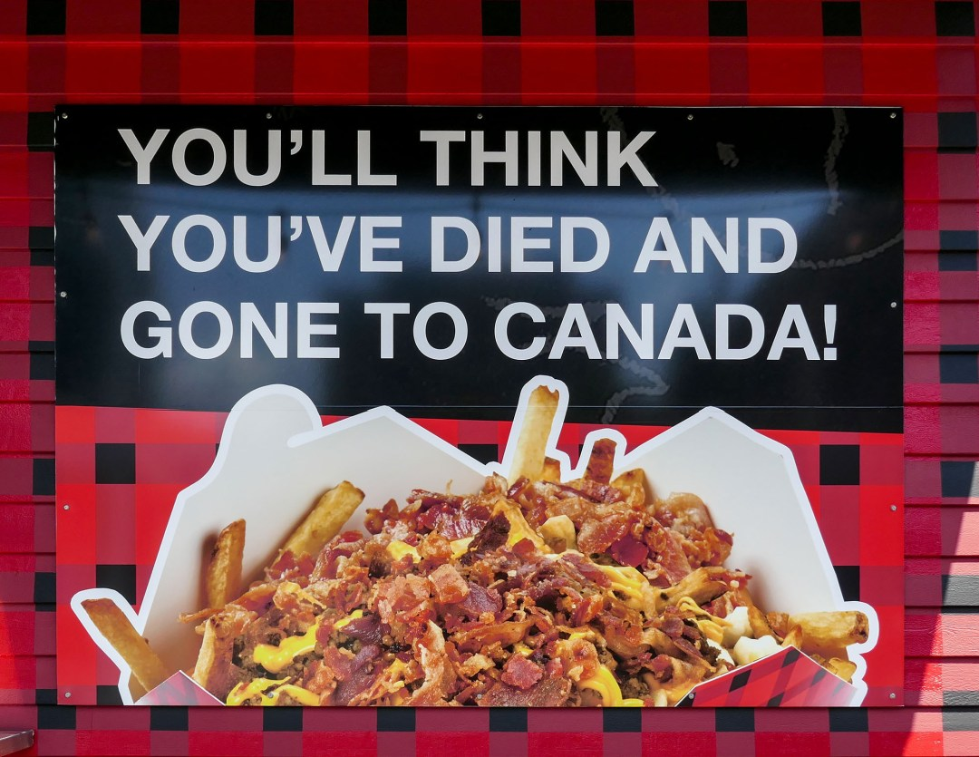Poutine in Lunenburg for boomervoice