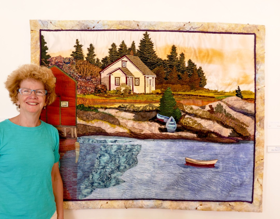 Quilt art in Lunenburg for boomervoice