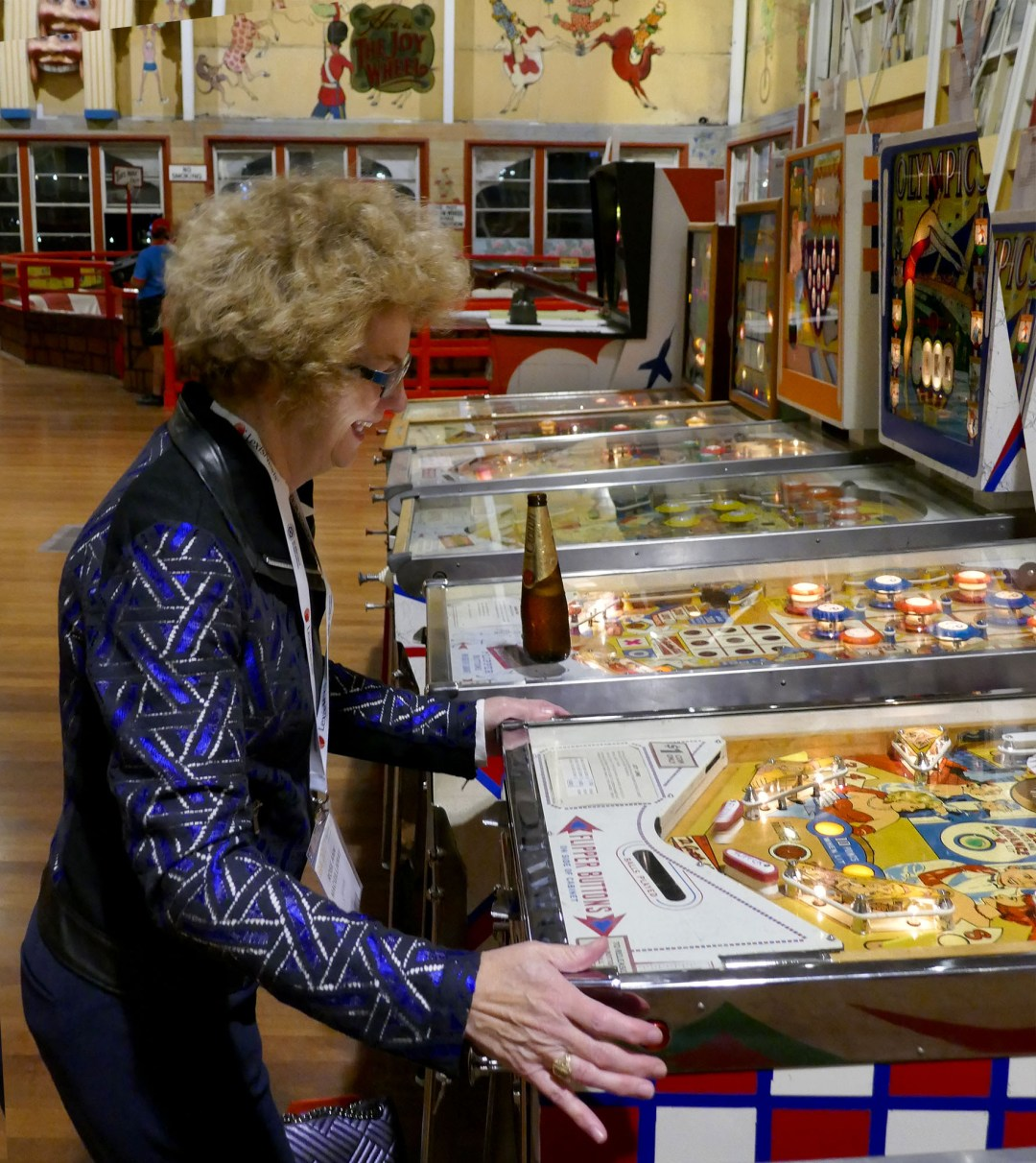 Pinball wizard at the International Bar Association annual conference in Sydney for boomervoice
