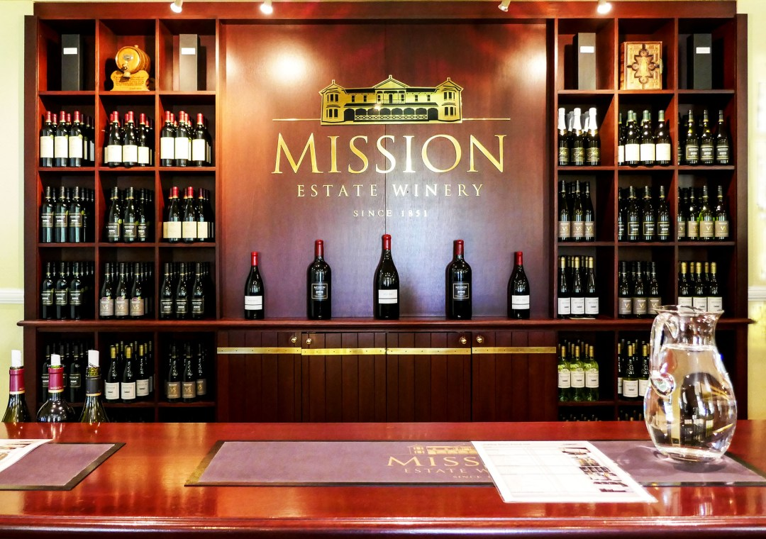 Mission tasting bar in Napier New Zealand for boomervoice