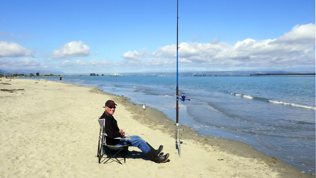 Beach in Nelson New Zealand for boomervoice