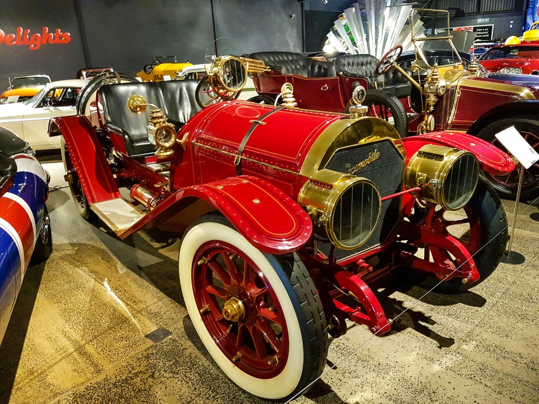 Locomobile at WOW Classic Cars for boomervoice