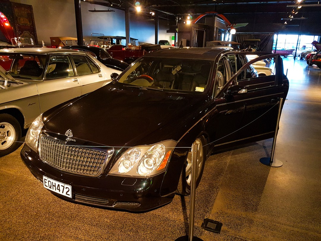 Maybach front at WOW Classic Cars for boomervoice