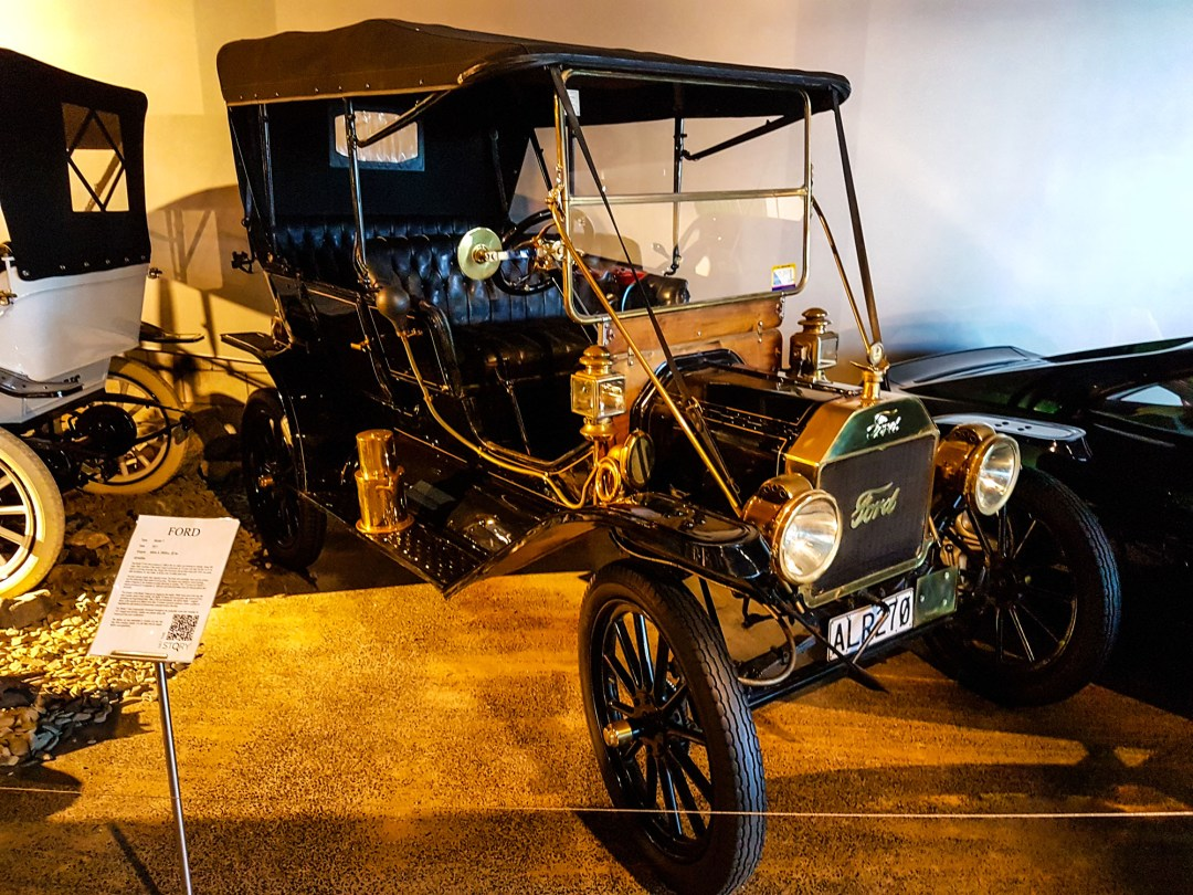 Model T Ford at WOW Classic Cars for boomervoice