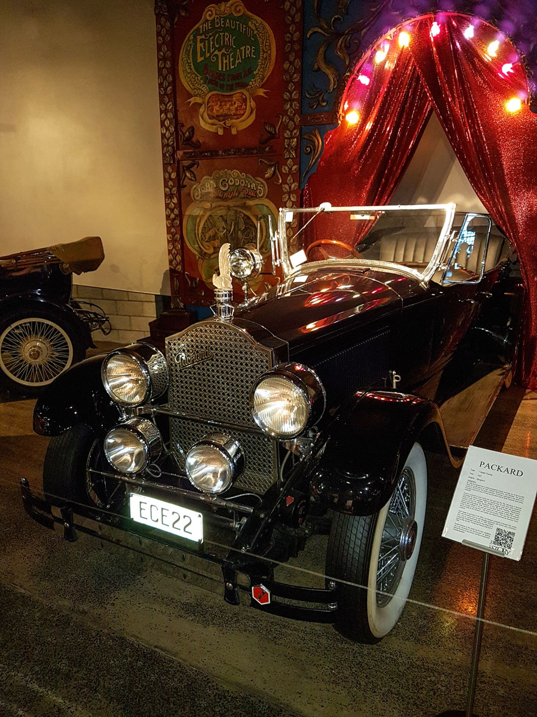 Packard at WOW Classic Cars for boomervoice