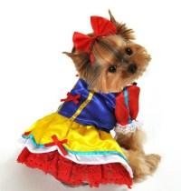 Alice In Wonderland, Robin Hood, Snowwhite Dog Costumes