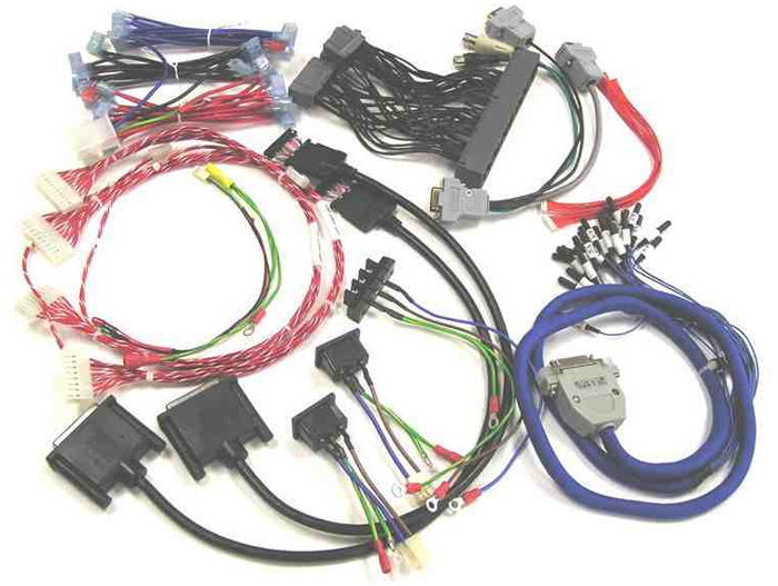 aerospace wire harness assembly image