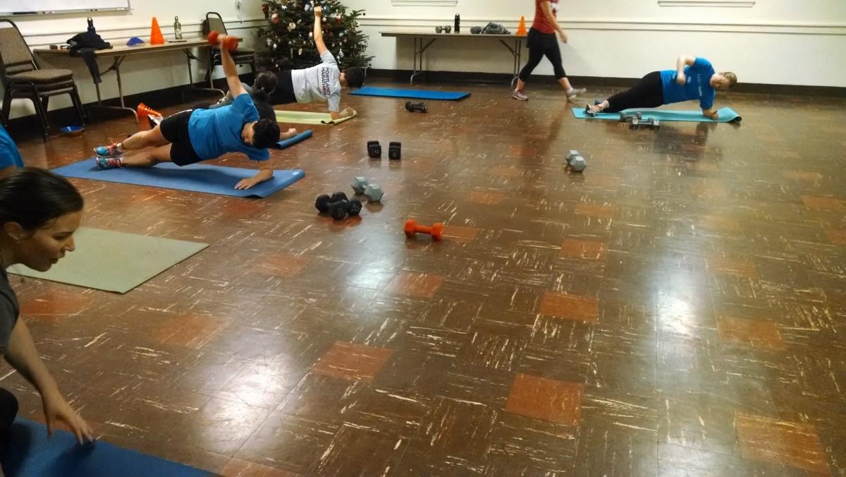 Christmas Tree Workout