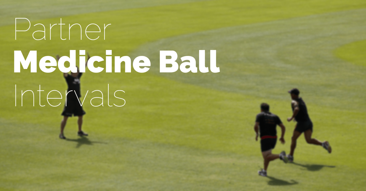 Simple Medicine Ball Partner Workout