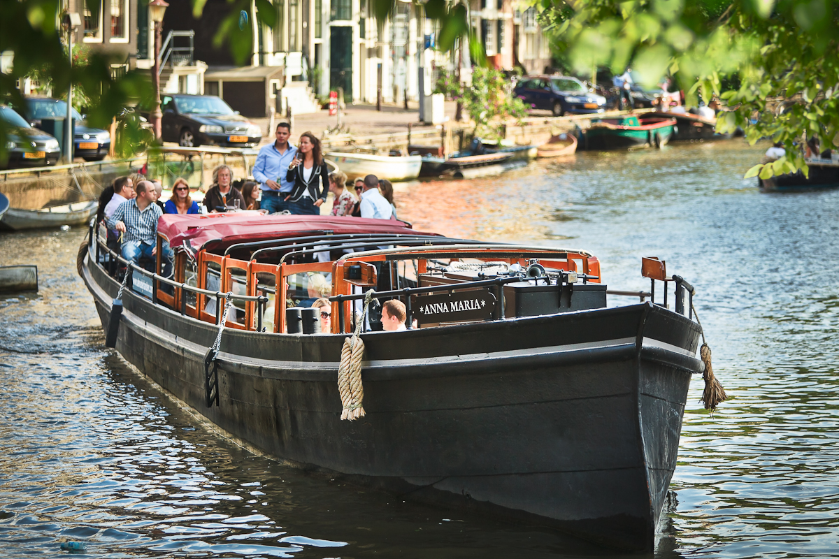 Rent A Boat Amsterdam Rent 60 Persons Canal Barge Anna Maria Via Rent A Boat