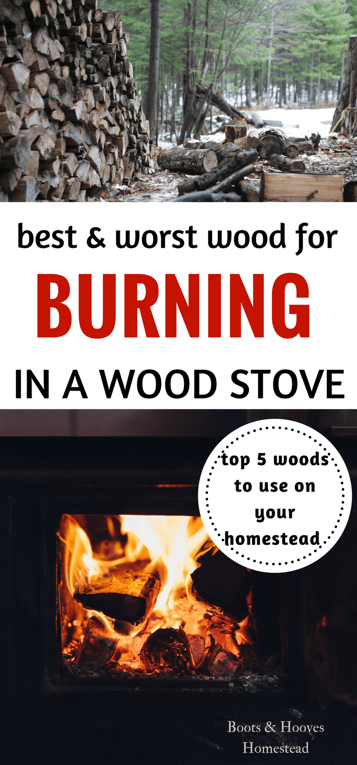 Best Wood To Burn In A Wood Stove Boots Hooves Homestead