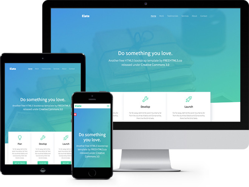 Bootstrap Themes and Templates at BootstrapZero - bootstrap one page template