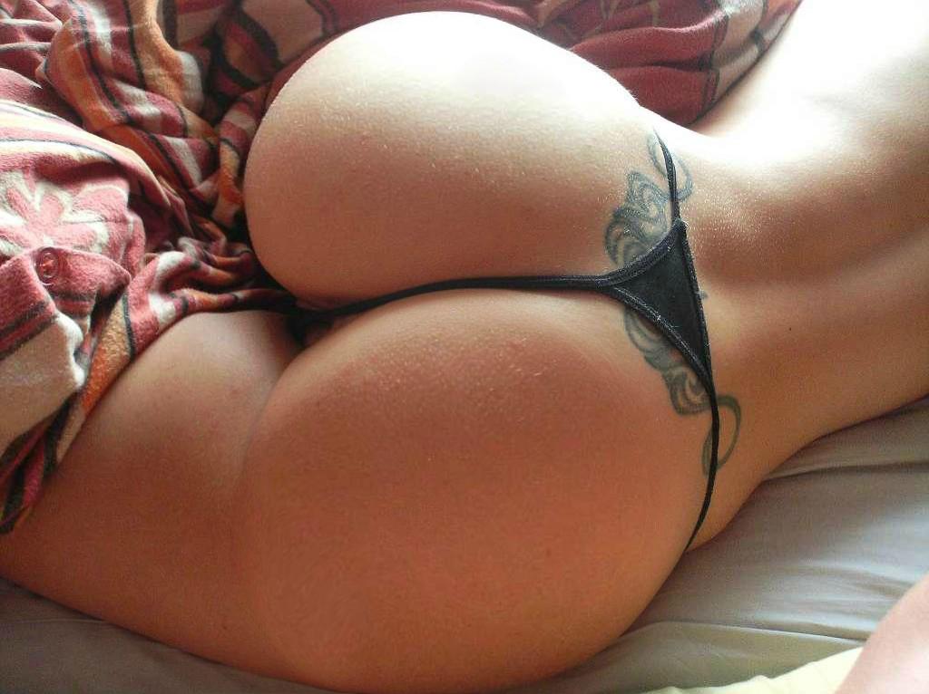 big ass in undies sleeping
