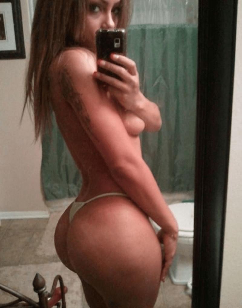 big black booty selfie