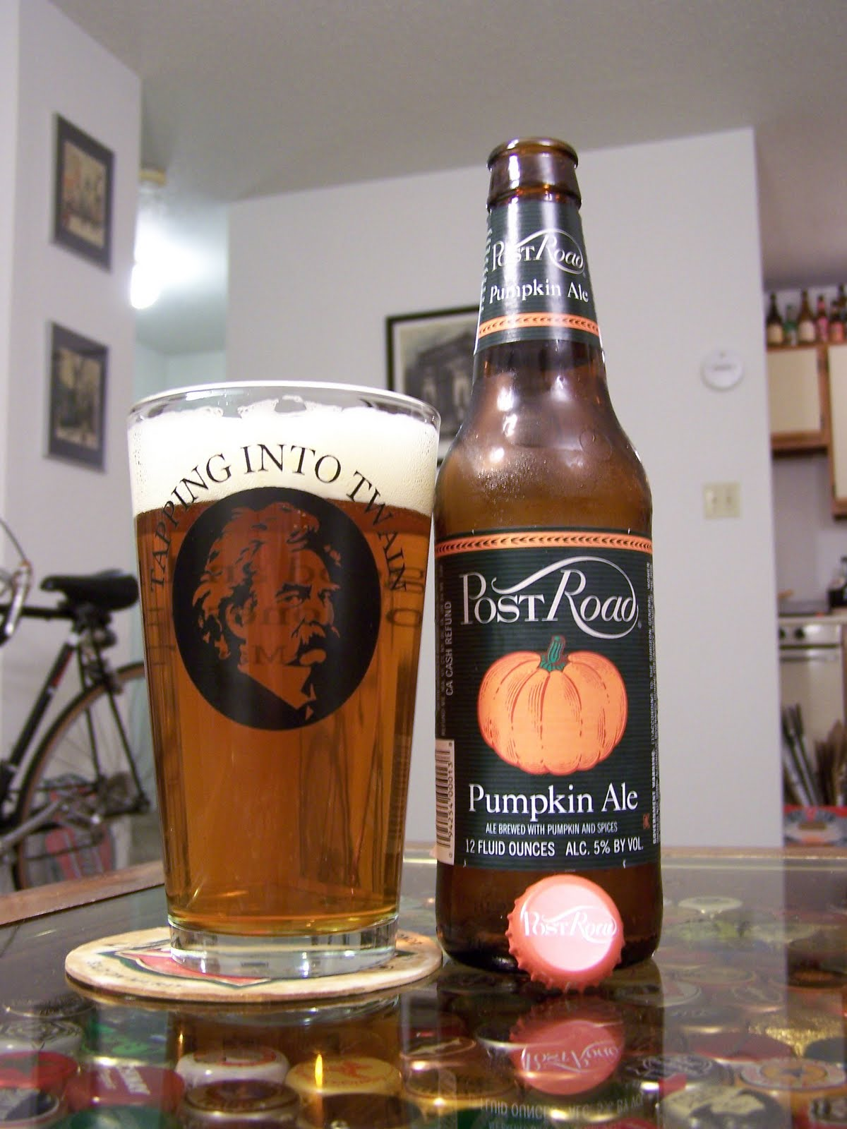 Aperitif Cocktail Beer Review – Brooklyn Brewery Post Road Pumpkin Ale – It