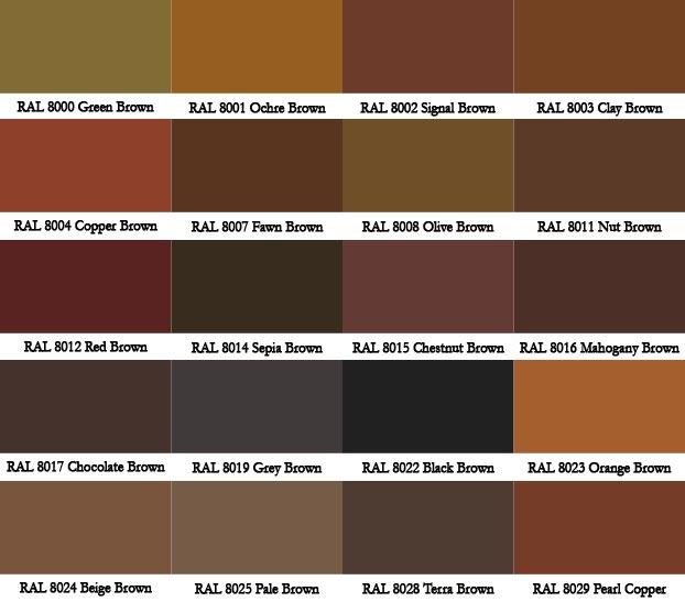 boozedancingfileswordpress 2014 07 ral-brown-shades - sample pms color chart