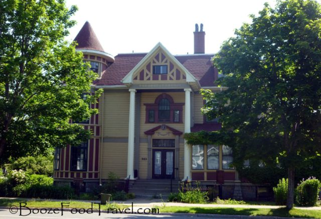 One of the historic houses in the neighborhood