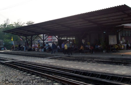Ayutthaya's train station is a little underdeveloped