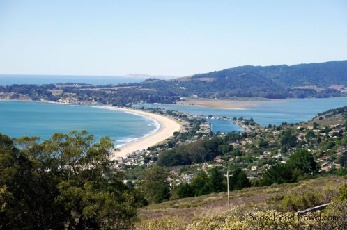 Overlooking Stinson Beach