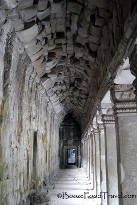 The vacant halls of Ta Prohm