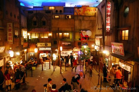Inside the ramen courtyard