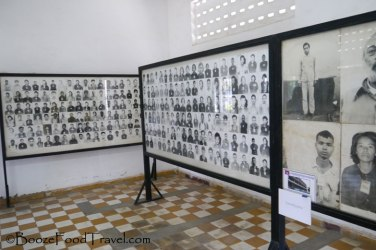 Photos of the victims who passed through S-21