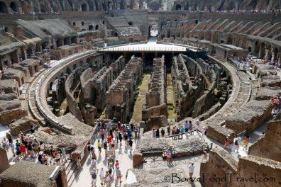 The Colosseum is pretty big