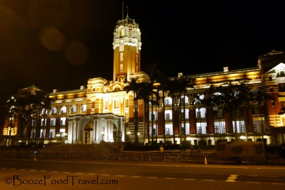 The Presidential Office Building in Taipei
