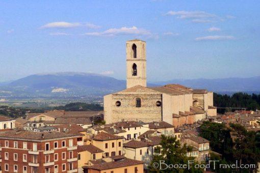 San Domenico in Perugia, Italy