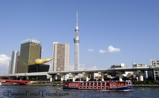 View of Tokyo from the Sumida River