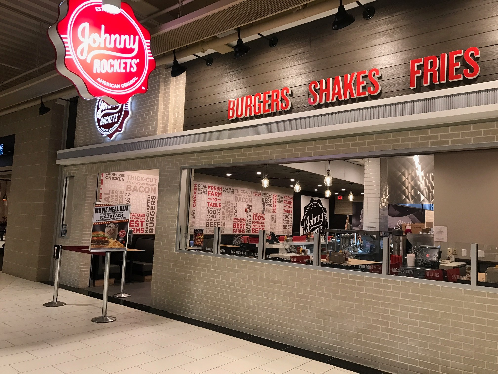 Johnny's Farmhouse Restaurant Johnny Rockets In West Nyack Launches 2 Design Boozy Burbs