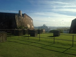 View from San Cristobal Fort in Old San Juan