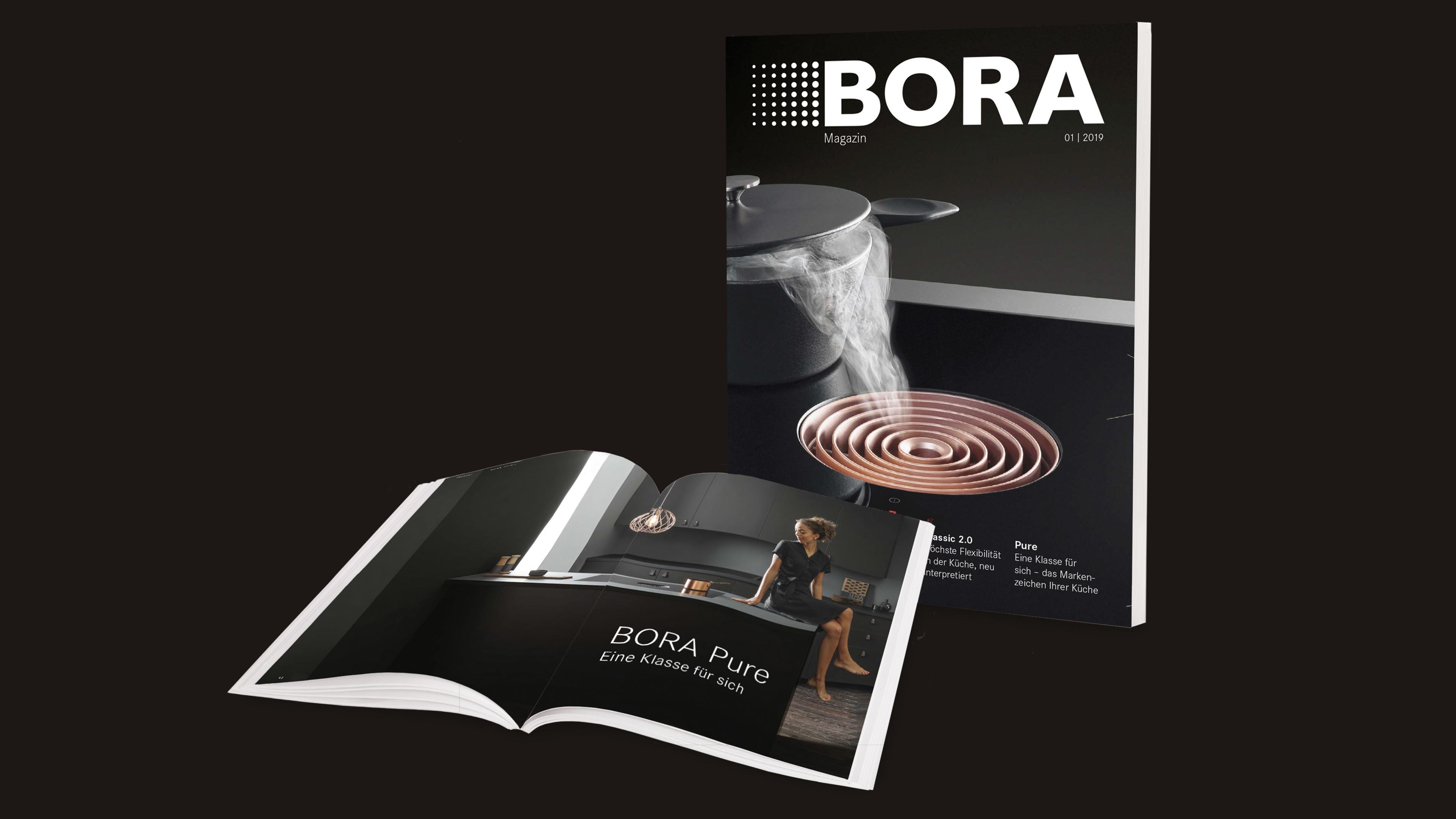 Küche Magazin Logo Bora Extractor Hoods And Cooktops